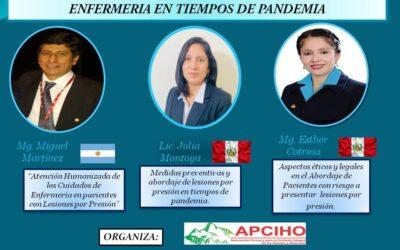 Webinar: Retos y Desafíos en la Gestión Humanizada de Enfermería en tiempos de Pandemia